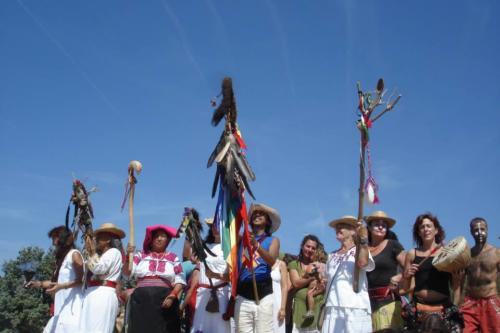 Ceremonia Kiva  Homenaje a la Tierra