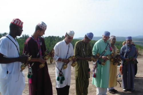 Ceremonia Nawua  Homenaje a la Tierra