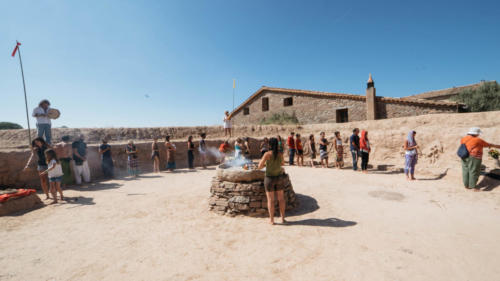 Kiva                 Templo Ceremonial